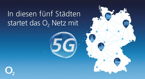 O2 5G Städte Karte