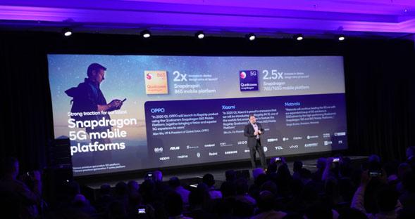 5G Snapdragon auf der CES 2020