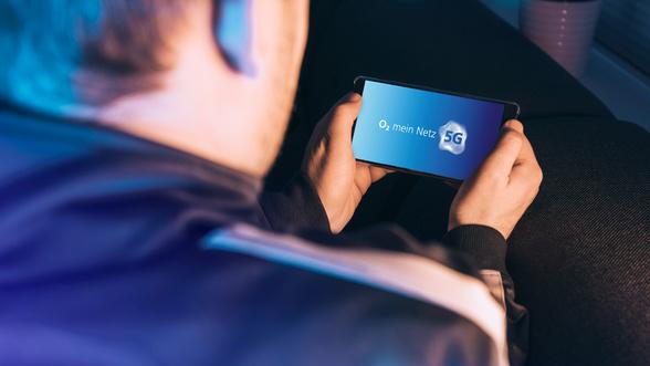 O2 5G am Handy