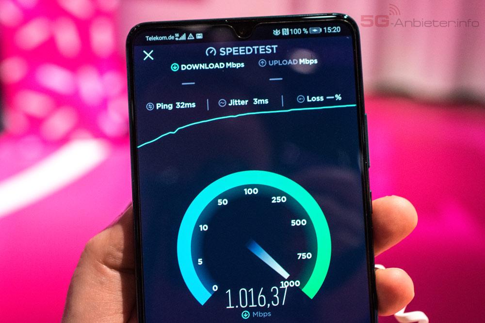Speed Test Telekom