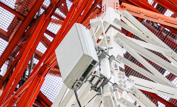 5G-Antenne im Testnetz